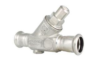 free-flow check valve