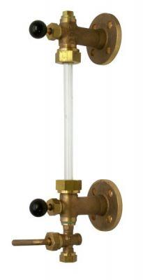 flange fluid level indicator